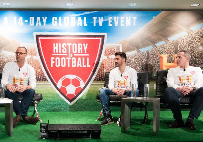 History - La Historia del Futbol - History of Football - Patrick Vien - David Villa - Dan Korn