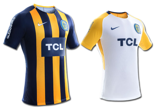 73e057bf094bf Nike - Camiseta Rosario Central 2018 - Home - Away