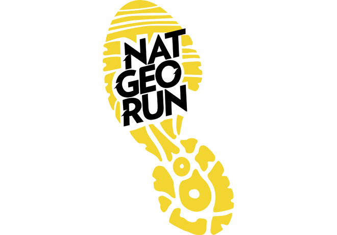 Nat Geo - Nat Geo Run - National Geographic - Logo