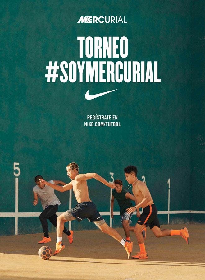 Nike - Torneo de Futbol Soy Mercurial