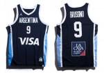 Nike - Air Jordan - CABB - Camiseta Suplente Away Frente y Dorso