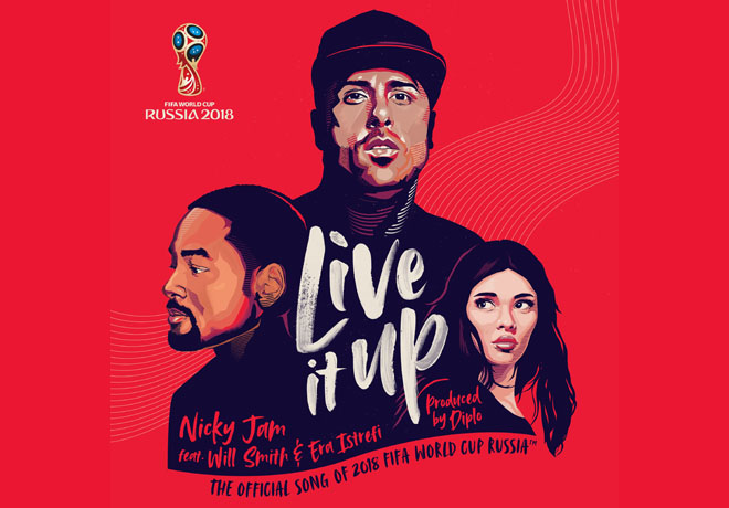 """Live it Up"", la canción de la Copa del Mundo."
