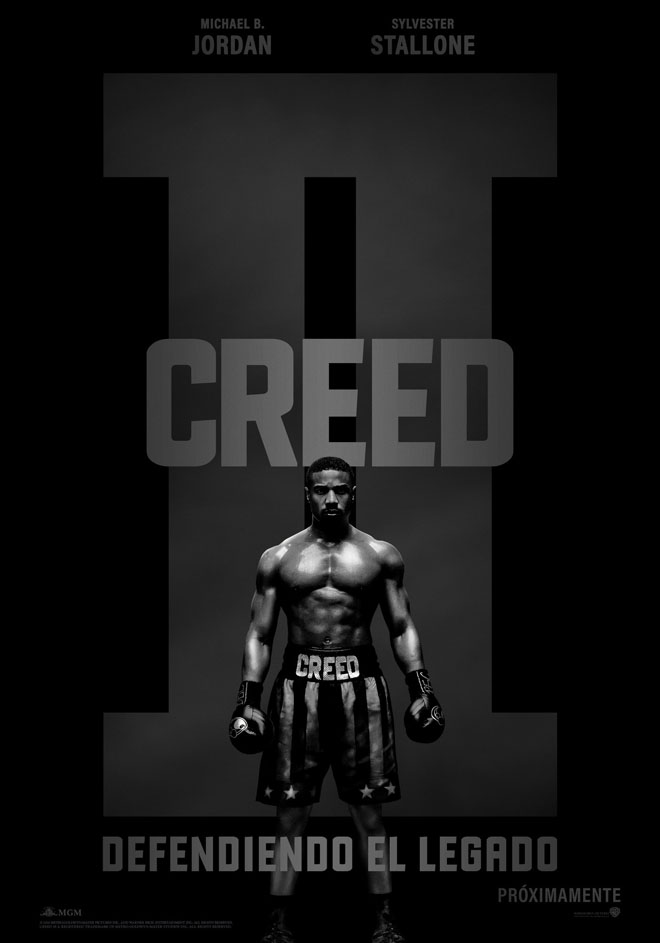 Warner Bros Pictures - Creed 2 - Defendiendo el Legado - Teaser Poster
