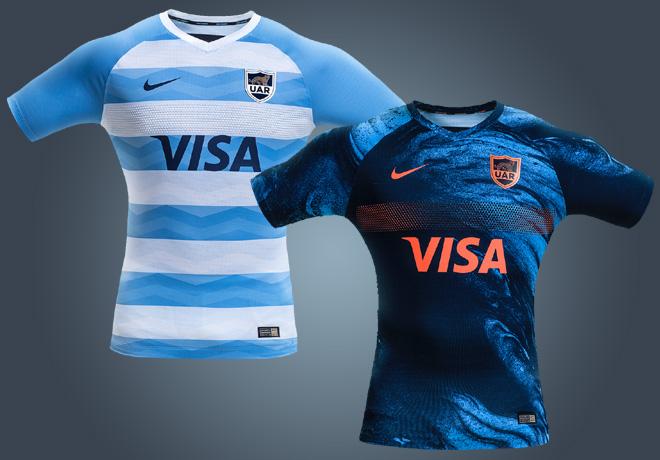 Nueva indumentaria de Los Pumas para el Rugby Championship.