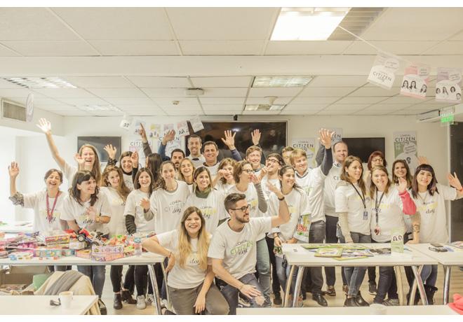Colaboradores de L'Oreál en el Citizen Day 2018 (1)