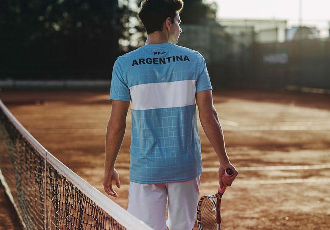 El equipo argentino en la Copa Davis ya tiene nueva indumentaria.