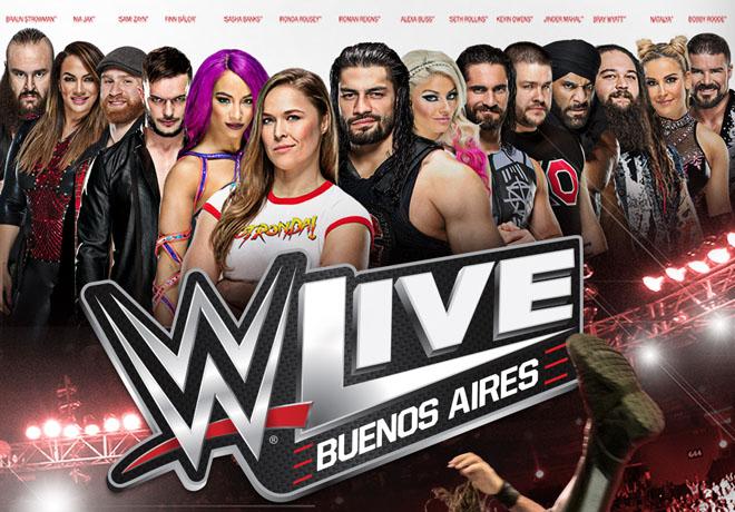 Las estrellas del WWE llegan nuevamente a Buenos Aires.