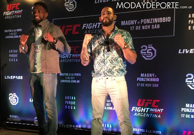 "Se presentó ""UFC Night"" en Buenos Aires."