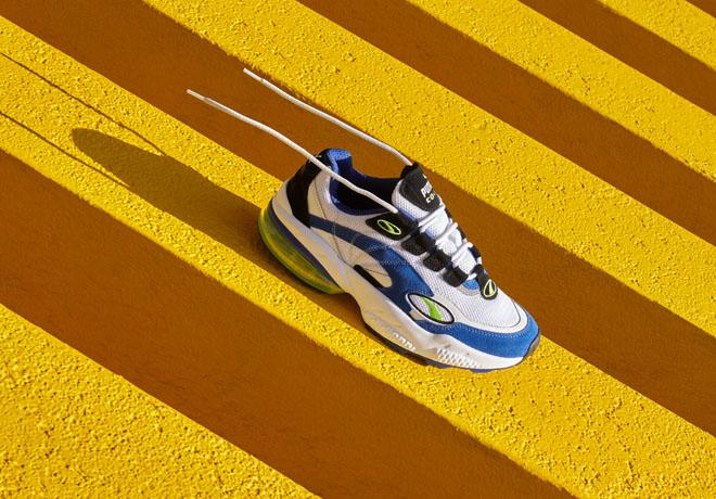 PUMA recrea la tecnología visible de los años 90.