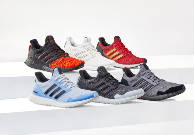"Llegan a la Argentina las adidas Ultraboost de ""Game of Thrones""."