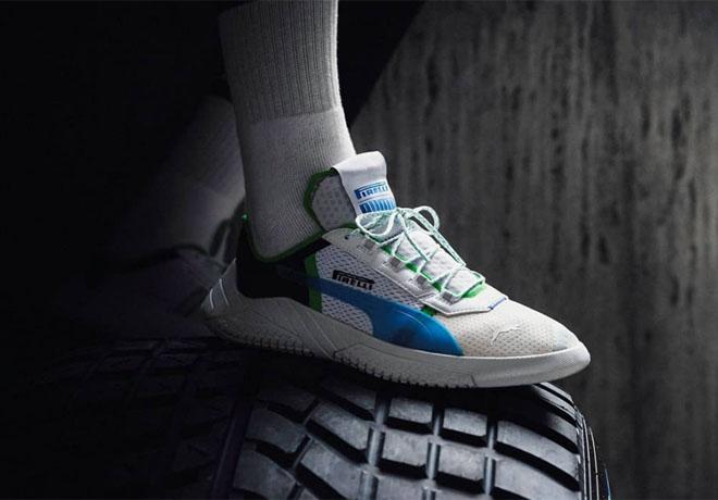 Pirelli y PUMA unen sus fuerzas para desarrollar una zapatilla inspirada en el deporte del motor.