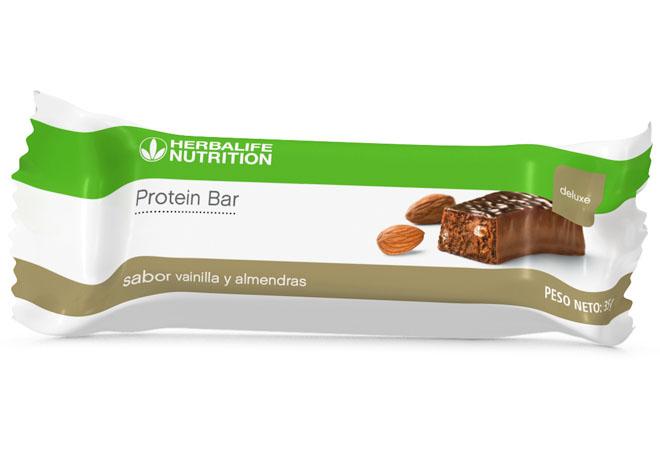 Herbalife Nutrition lanzó su nueva barra de proteína deluxe.