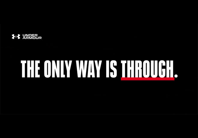 Under Armour - The Only Way is Through